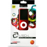 LAMTECH MP4 PLAYER8GB WITH FM RADIO RED - (9981202050578)