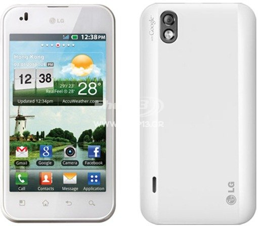 Lg optimus black p970 white
