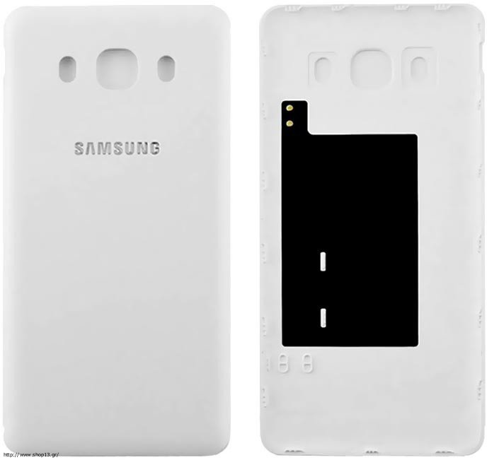samsung j510 galaxy j5 2016 white battery cover or. Black Bedroom Furniture Sets. Home Design Ideas